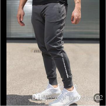 New Mens Sweatpants Gyms Fitness drawers Bodybuilding Joggers workout trousers Male Casual sporting cotton Slim fit Pencil Pants
