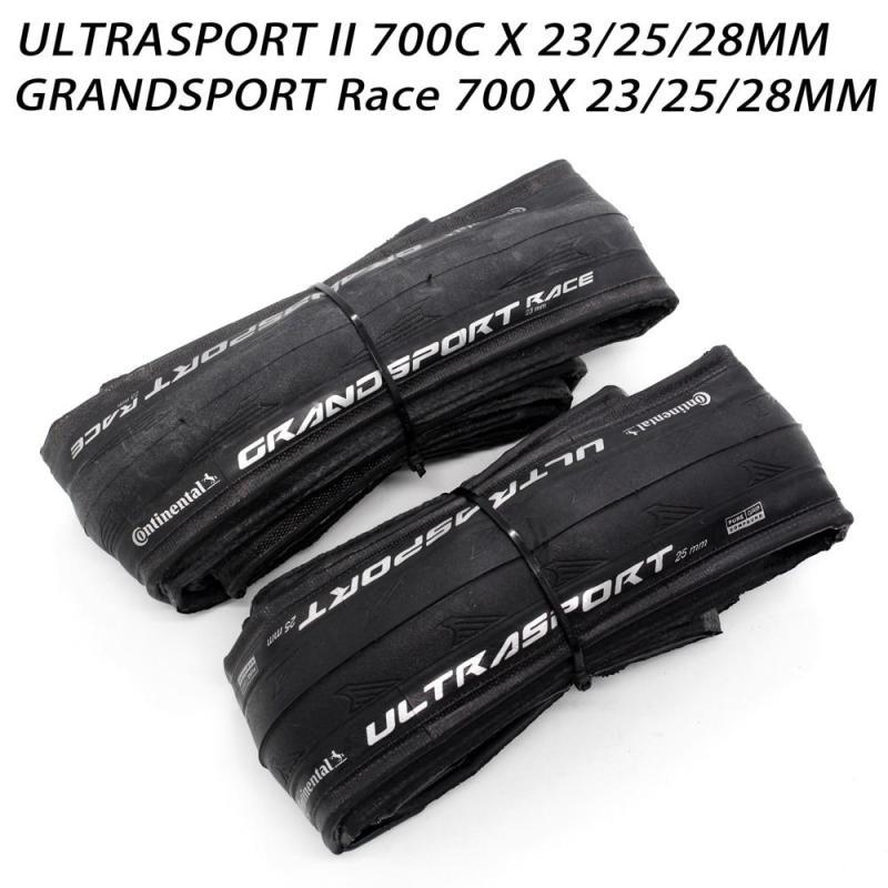 SPORT Continental ULTRA II Sport RACE 700 * 23 / 25C 28c Route de pneu: Pneus vélo pliable GRAND Sport RACE