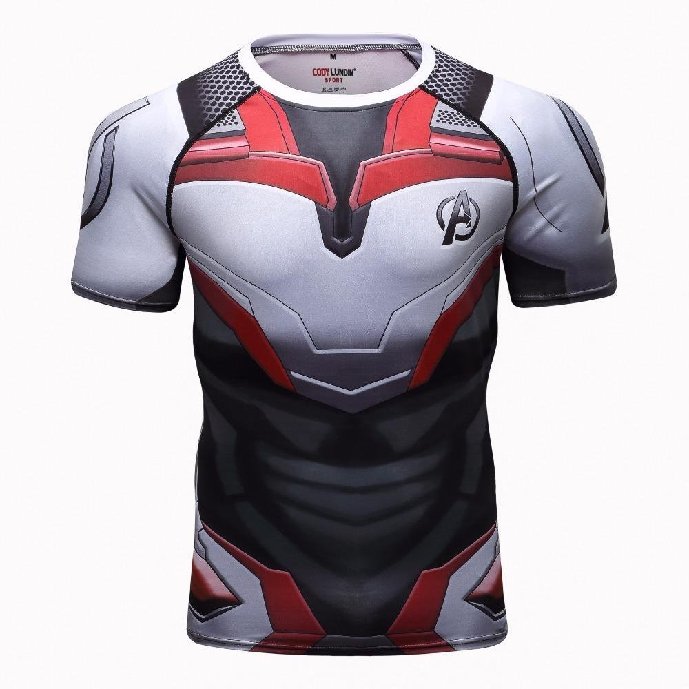 Avengers 4 Endgame Quantum War 3d Printed T Shirts Men Compression Shirt Iron Man Cosplay Costume Long Sleeve Tops For Male Q190516 From Yiwang04 15 52 Dhgate Com