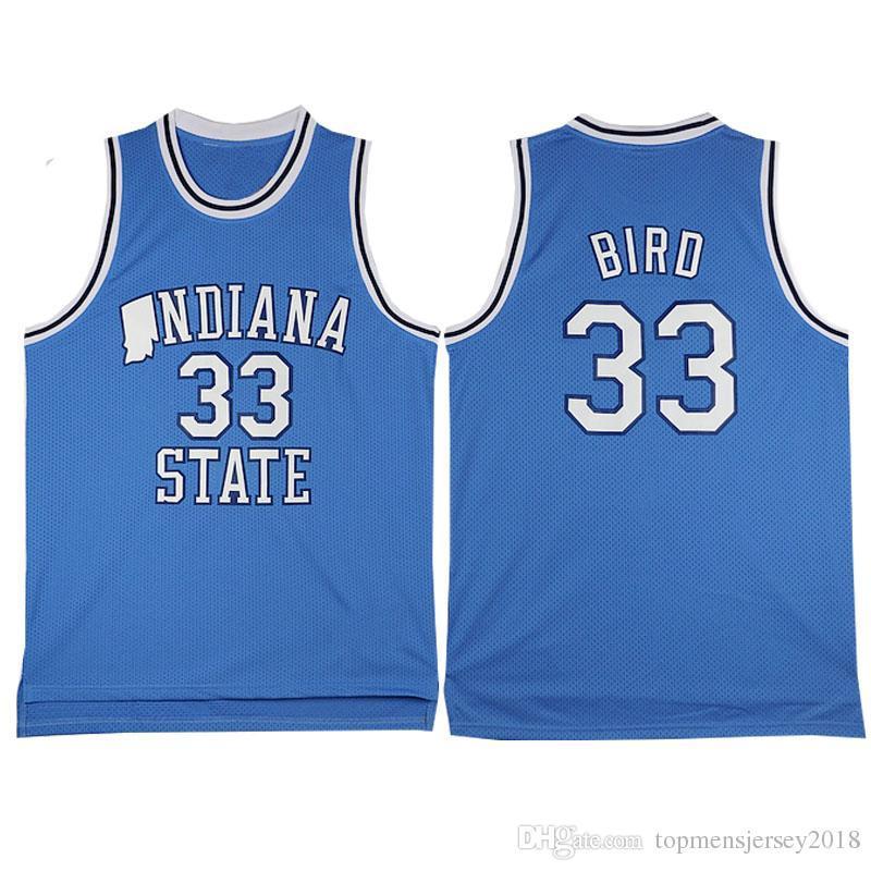 NCAA Michigan State Spartans 33 Earvin Johnson Branco Colégio 33 Larry Bird Grau