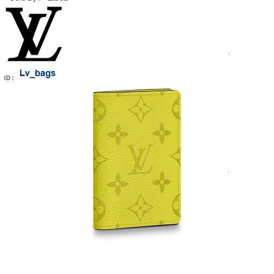 Yangzizhi New Color Folding Pocket Wallet M30318 Long Wallet Chain Wallets Compact Purse Clutches Evening Key