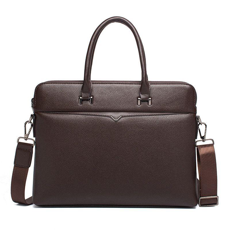 2020 Компьютер кожаный бизнес мешок портфель мужской мужской винтаж мужская сумка повседневная посланник плечо мальчик аллигатор Tote роскошный UBMWT