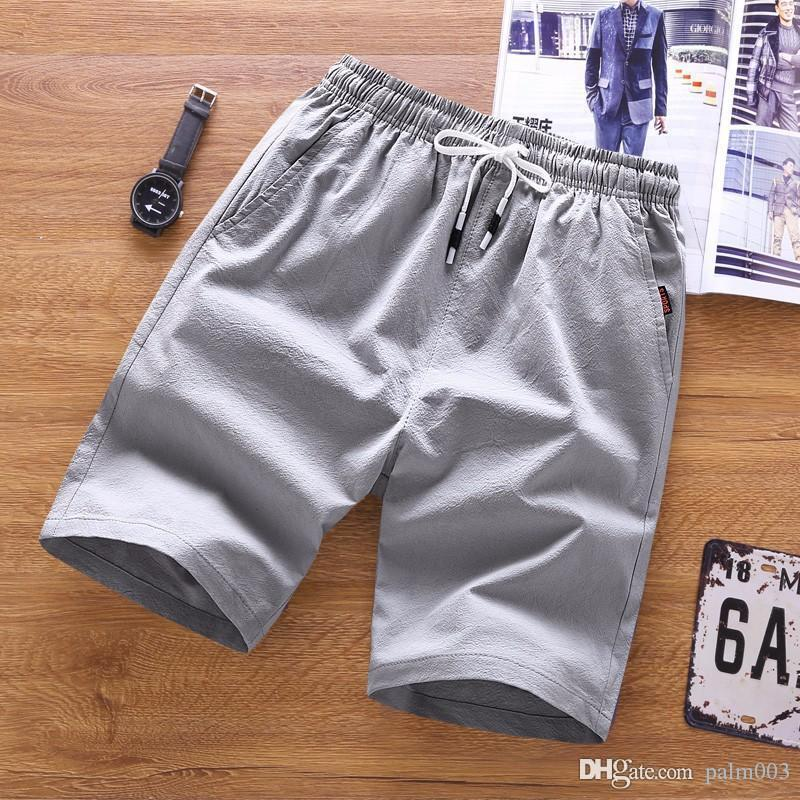 BSETHLRA 2019 New Shorts Men Hot Summer Sale Praia Shorts Homme Casual estilo solto Elastic Moda roupas de marca Plus Size 5XL