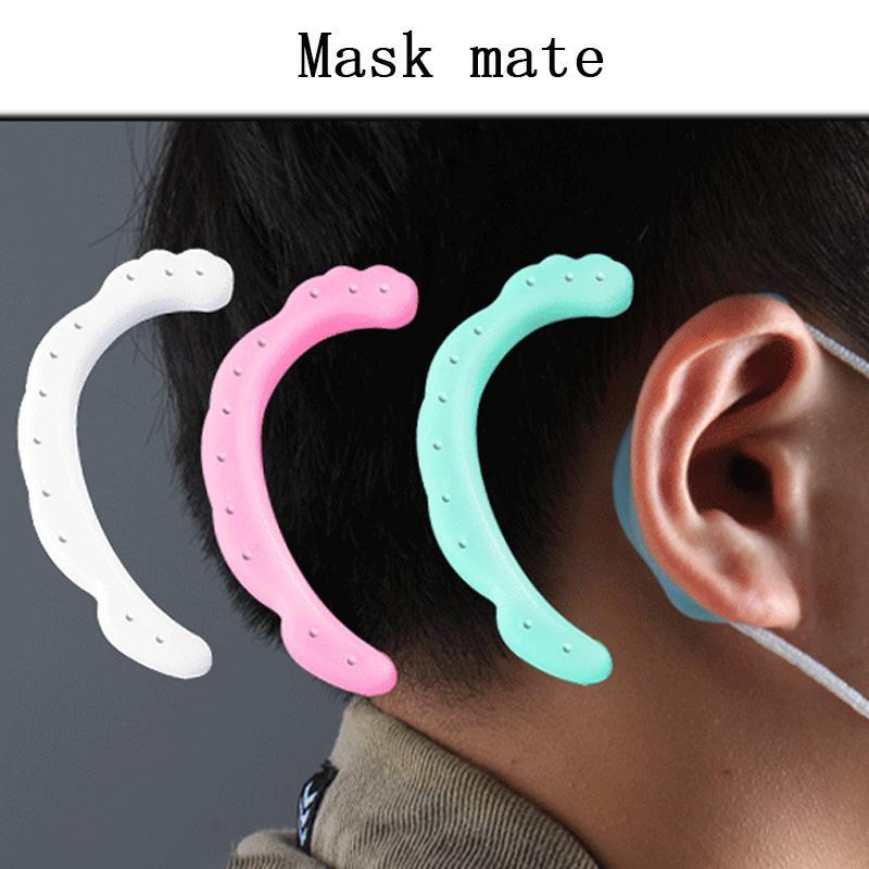 One pair Ear Hooks for Mask Earphones Silicone Clip Masks Ear Hook Ear Hook Hanger Universal Headset Fast Shipping