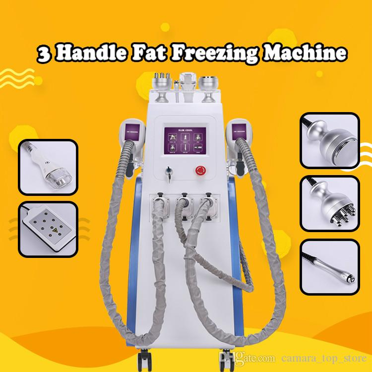 6 in 1 Criolipolise Fat Freezing Machine Cryolipolysis rf Cavitation Slimming Body Weight Loss Equipment Reduce Fatty Cell