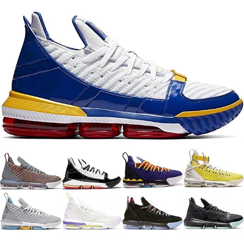 Desconto 16 homens tênis de basquete 16s igualdade HFR Martin Remix SuperBron Safari relógio The Throne Trainer Athletic Sport Sneaker tamanho 7-12