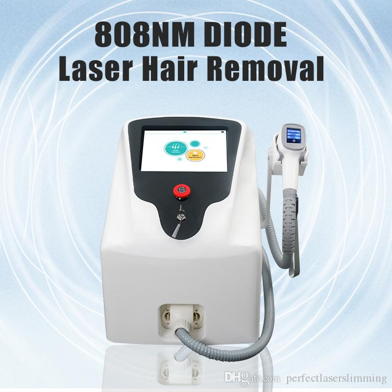 2019 Light sheer diode laser hair removal system 808nm Diode laser Soprano 808 diode laser hair removal machine