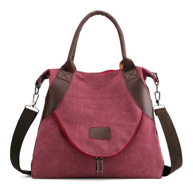 2020 Designer-Handtasche Weiblicher Luxus Wilden Trend Messenger Bag Designer Leichte Retro beiläufigen Segeltuch-Schulter-Beutel