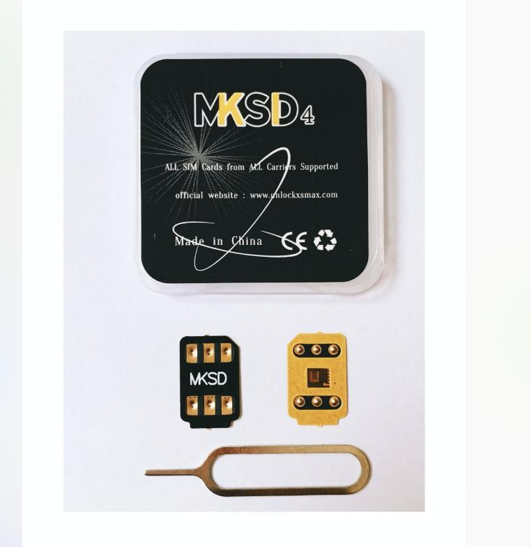 MKSD4 adhessive glue sticker iccid unlocking all carriers for ip11pro max 11 xsmax XR x 6/7/8/plus Gevey pro dbsim vsim