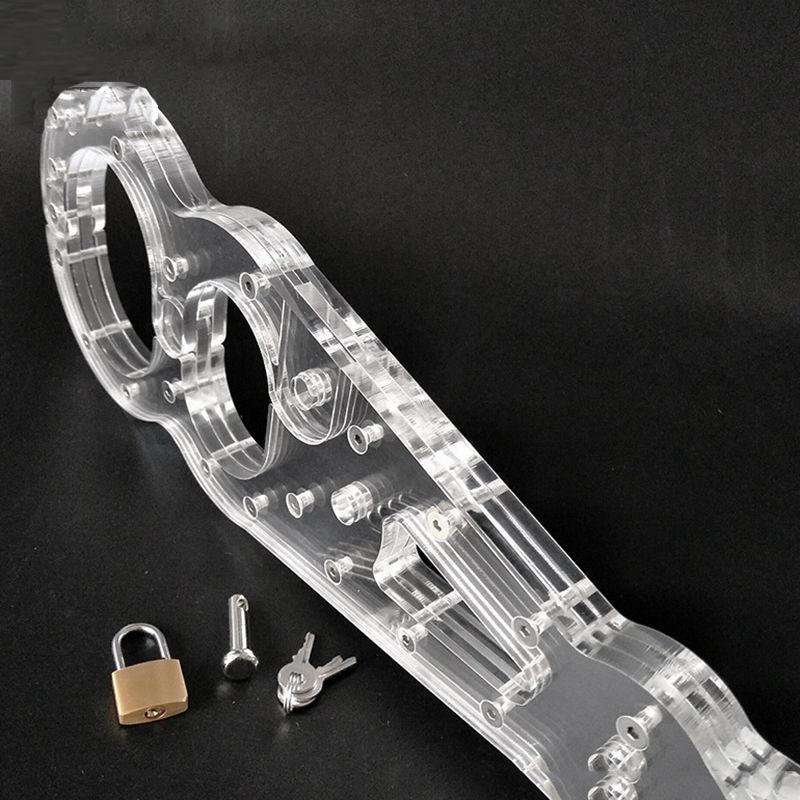 Erwachsene + Manschetten Kristall Pruory Handgelenkstützen Bein DeviceJouets Handharz Knöchelhals SEXUELSTOYS FÜR PP KQEUO