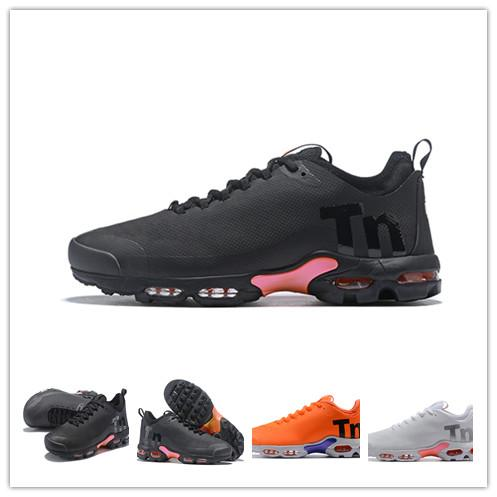 quality design speical offer where to buy Tn Plus Ultra SE Mercurial 2019 Men Designer Shoes Running Black Orange  White Outdoor Run Utility Trainers Luxury Sneakers Tn Sports Shoes Shoes ...