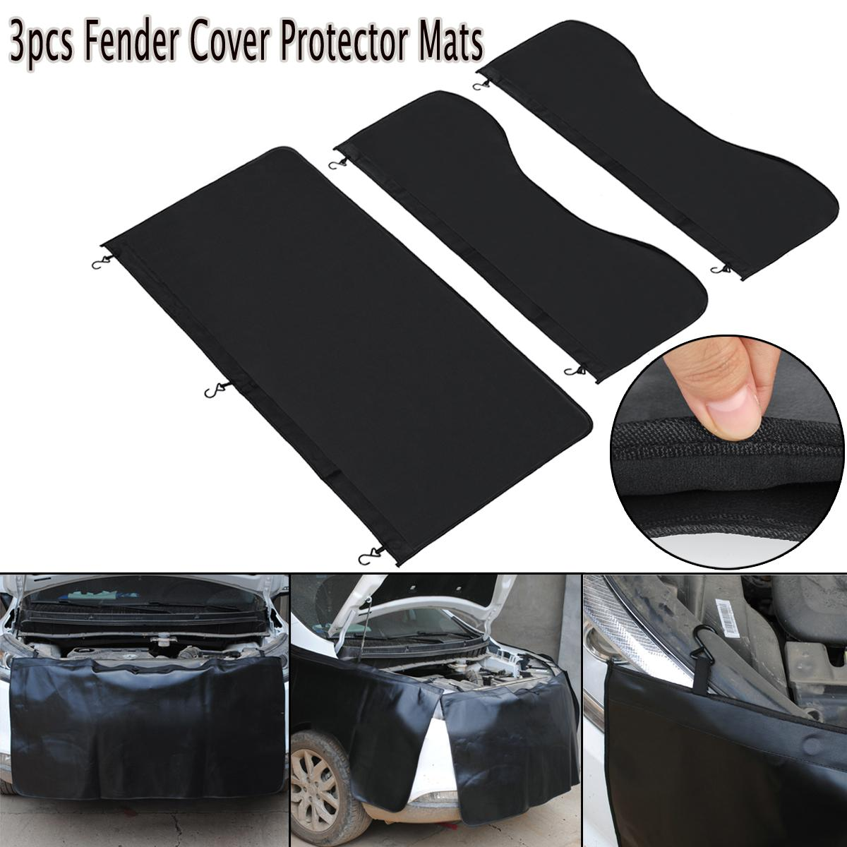 3 stücke Universal Auto Magnetic für Fender Cover Protector Mechaniker Arbeitsmatte Auto Reparatur Pad