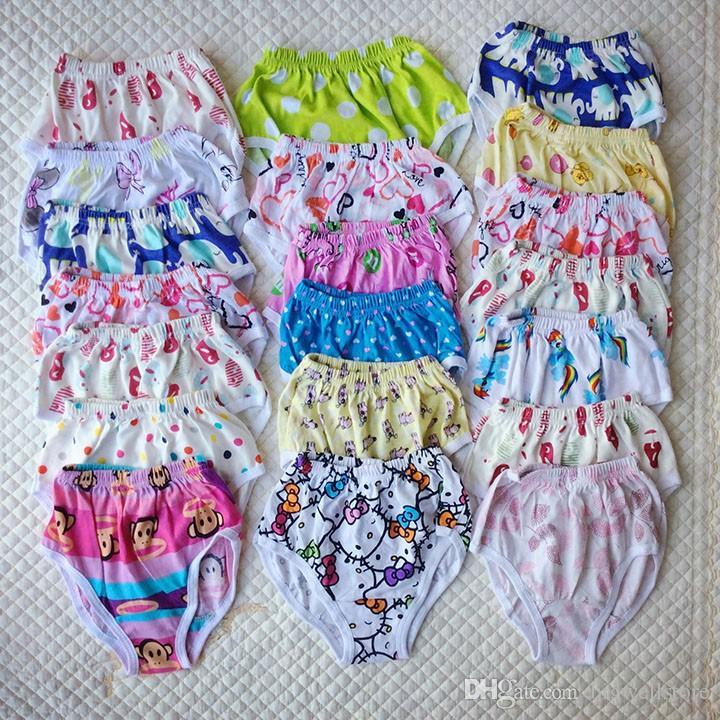Cartoon chien voiture coeur brid enfants shorts enfant culotte bébé Potty Training pantalon pur coton tronc filles boxeurs enfants triangle