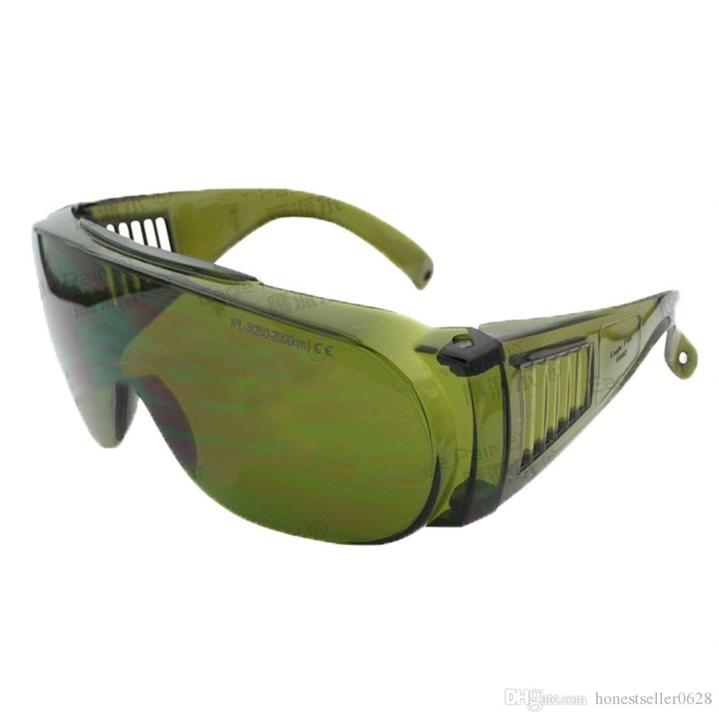 نظارات حماية السلامة ، نظارة واقية IPL SHR ، 190-2000nm للاستخدام لمشغل صالون تجميل OPT