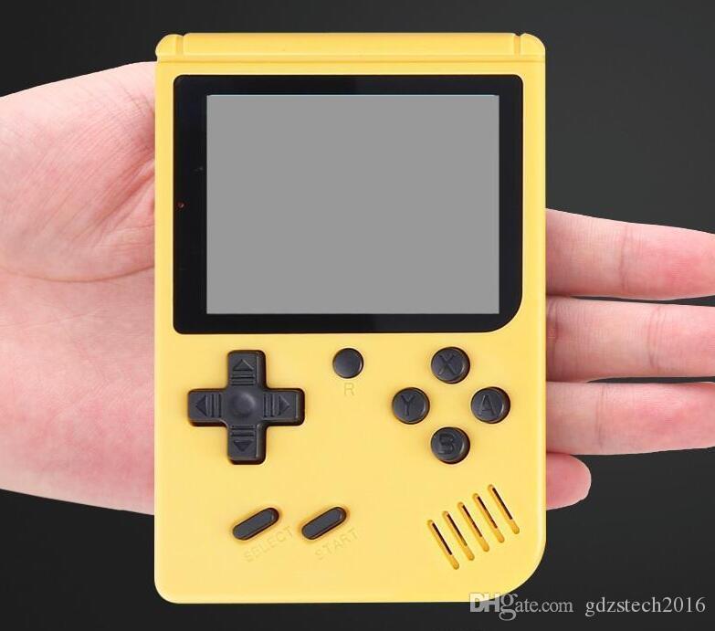 RS-6A (500) 3,0 pouces TFT Screen Couleur LCD Mini Vidéo Handheld Jeux de jeu Portable Rétro console