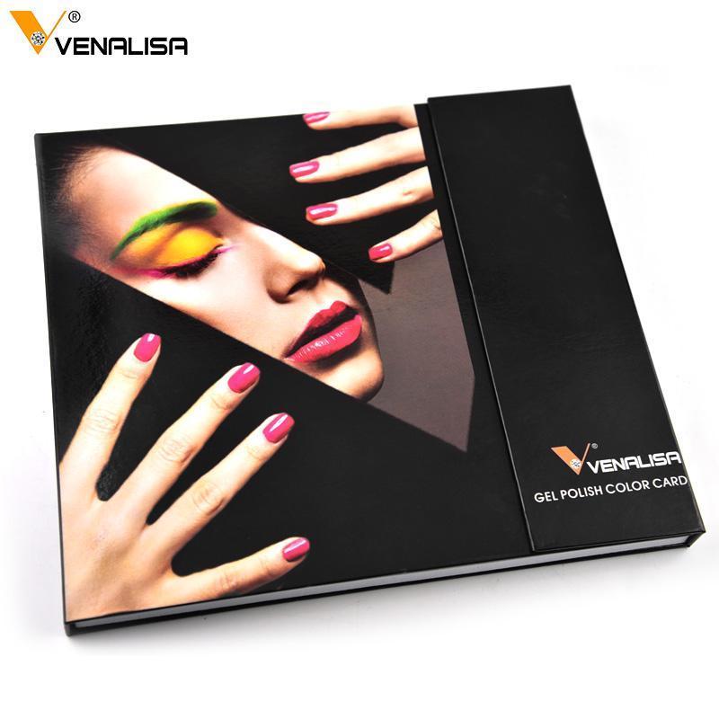 Venalisa 60 الألوان جل وهناك مجموعة بما في ذلك قاعدة / الأعلى هلام مسمار الفن المهنية جل حيرة طويلة الأمد جل البولندية