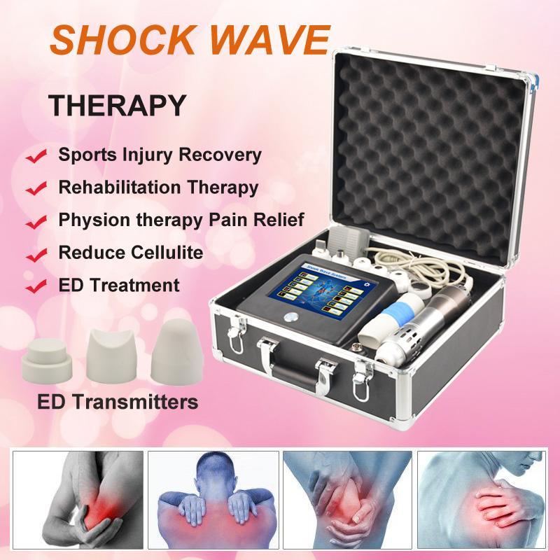 TOCH terapia de la máquina de tratamiento con ondas de choque Gainswave onda de choque terapia de ondas acústicas de la pérdida de peso de radiofrecuencia máquina de equipos de belleza