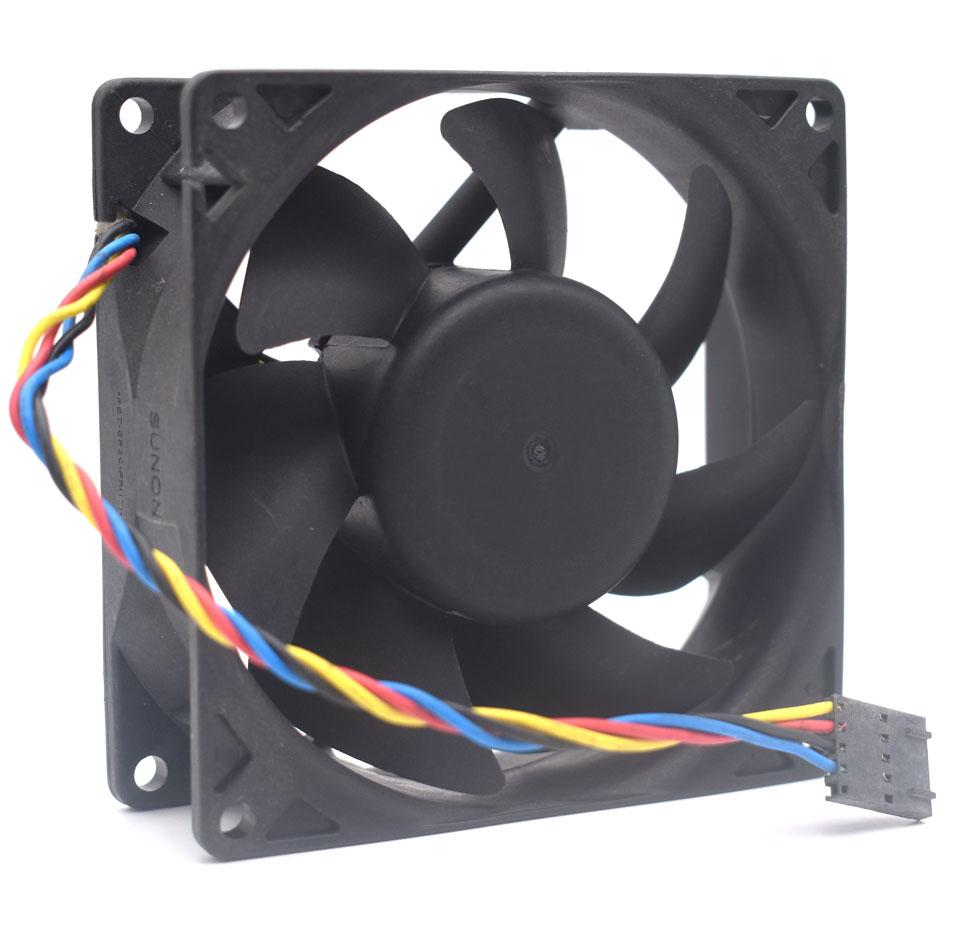 PSD1209PLV2-A B3553.F.GN DC12V 4.2W Server Cooling Fan 4-wire PWM 90x90x32mm WC236-AOO