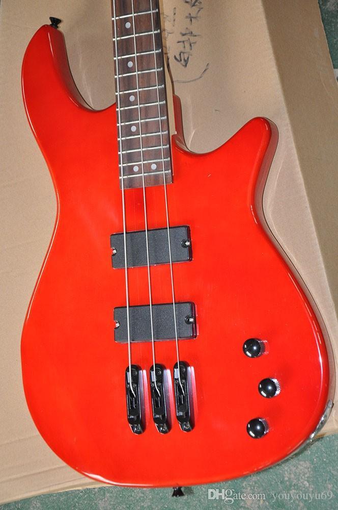 Пользовательские Специальный 3 Bass Электрогитара Струны с Пикапы 2 Black, Rosewood масштабе, предлагая индивидуальные услуги