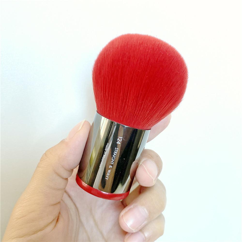 Limited RED Powder Kabuki Brush 124 - портативный многоцелевой Face Foundation Powder Bronzer Румяна кисти для макияжа