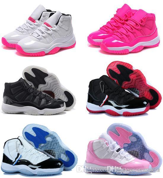 72-10 Оригинал 11 11s женская баскетбольная обувь онлайн дешевые продажи лучшее качество реальные кроссовки размер США 5.5-8.5 бесплатная доставка с коробкой