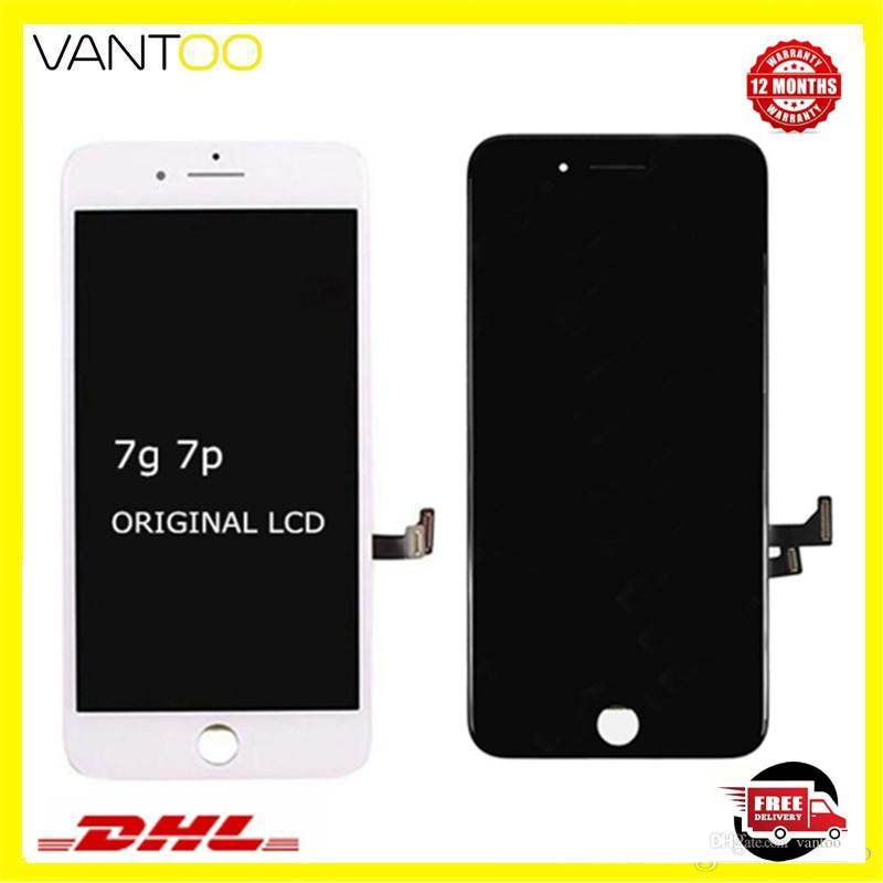 100% OEM Original LCD display screen touch digitizer for iphone 7 7 plus repair screen replacement free shipping DHL