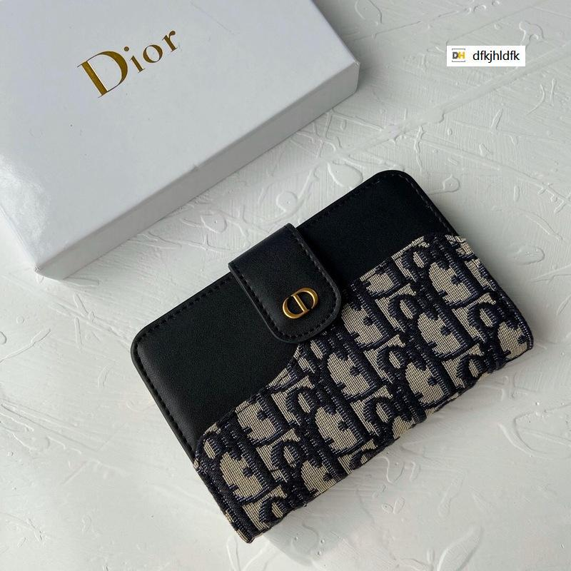 7DSJ Autumn and winter 1966 small wallet REAL LEATHER Compact Long Wallets Chain Wallet Pouches Key Card Holders Phone Cases PURSE CLUTCHES