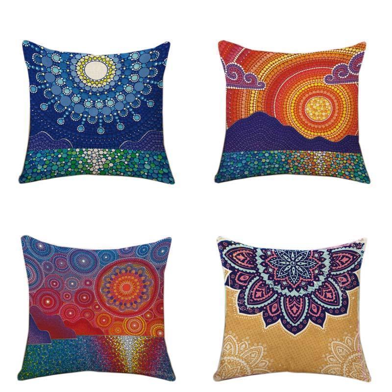 Almohada caso de la serie New Living caso almohadas fundas de almohada cubierta casa silla de fundas de colchón geometría hetero decoración tiro