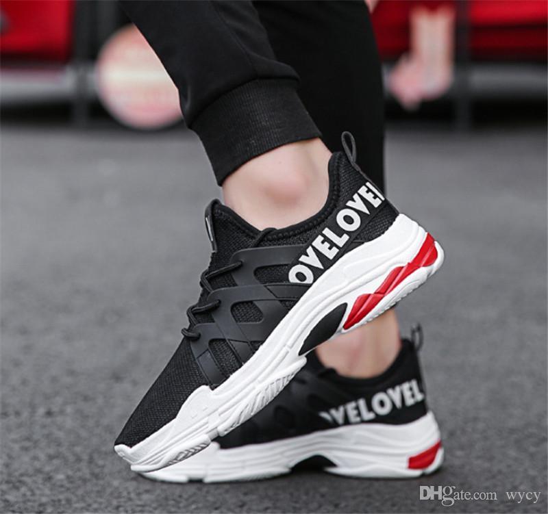 2020 عالية الجودة البرية شبكة مصمم الأزياء الأحذية الثلاثي حذاء رياضة اللباس دي لوكس أحذية رياضية أسود رمادي الرجال الاحذية