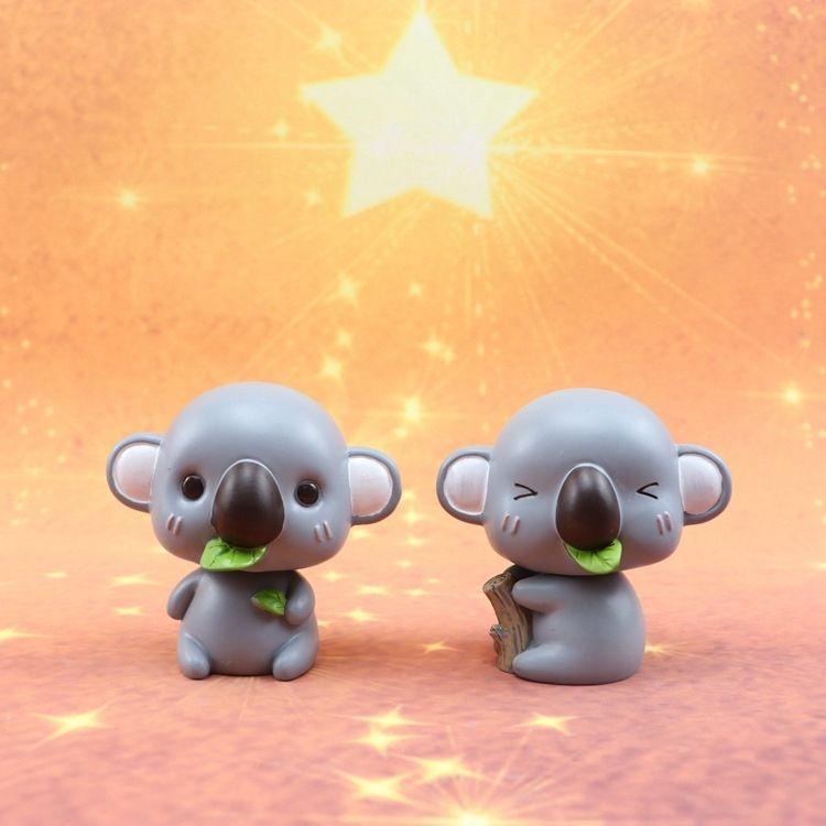Shook his head adorable little koala car ornaments MengMeng cute creative personality car interior decoration goddess