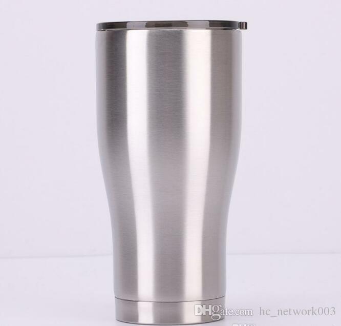 Moderna simple de vacío 30 OZ personalizada clásico vaso taza del viaje con aislamiento Tazas con pared doble sellado al vacío