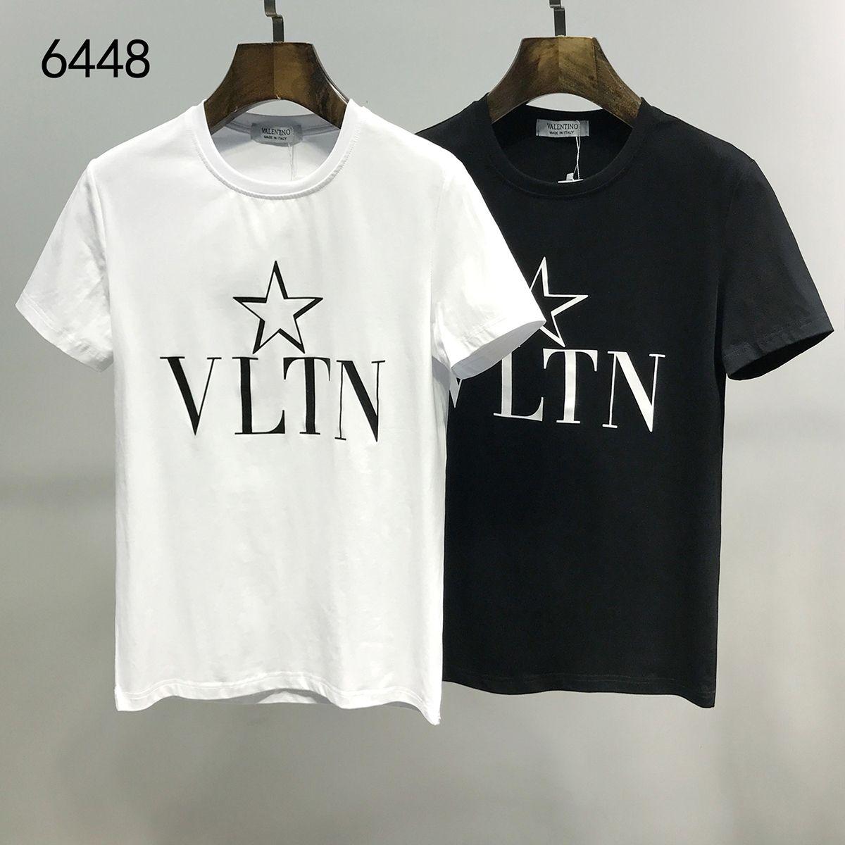 2020 여름 패션 남성 여성 베일 런 편지 T 셔츠 # 011 유럽 오프 럭셔리 캐주얼 스트리트 짧은 소매 셔츠 화이트 프린트 티셔츠 메두사
