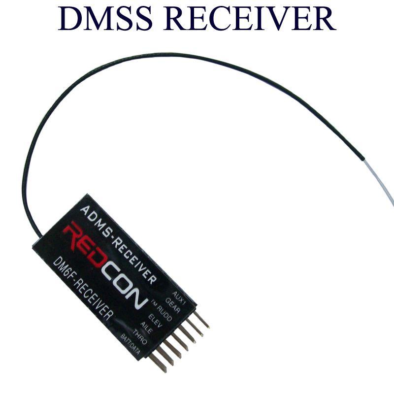 DM6F MICROLITE 6CH DMSS Receiver 6 Channel ADMS Receivers for JR XG6 XG7 XG8 XG11 XG14 Transmitter radio