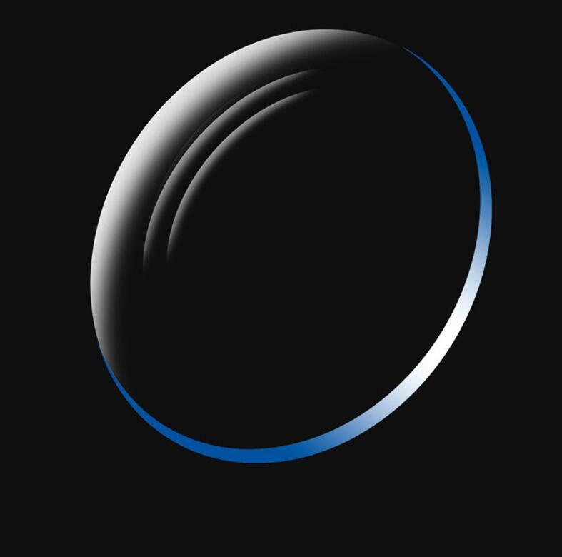 معامل الانكسار 1.74 المضادة الضوء الأزرق شبه كروي عدسة بصرية MR-1.74 سامسونج مسعور الراتنج نظارات عدسة لقصر نظر قصر النظر نظارات