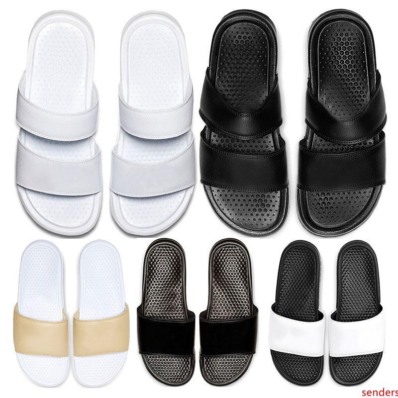 Nuovo di arrivel pantofole di moda Classics Benassi JDI Duo Ultra mens diapositive estate delle donne flip flop Beach dimensioni dei sandali sport 36-45