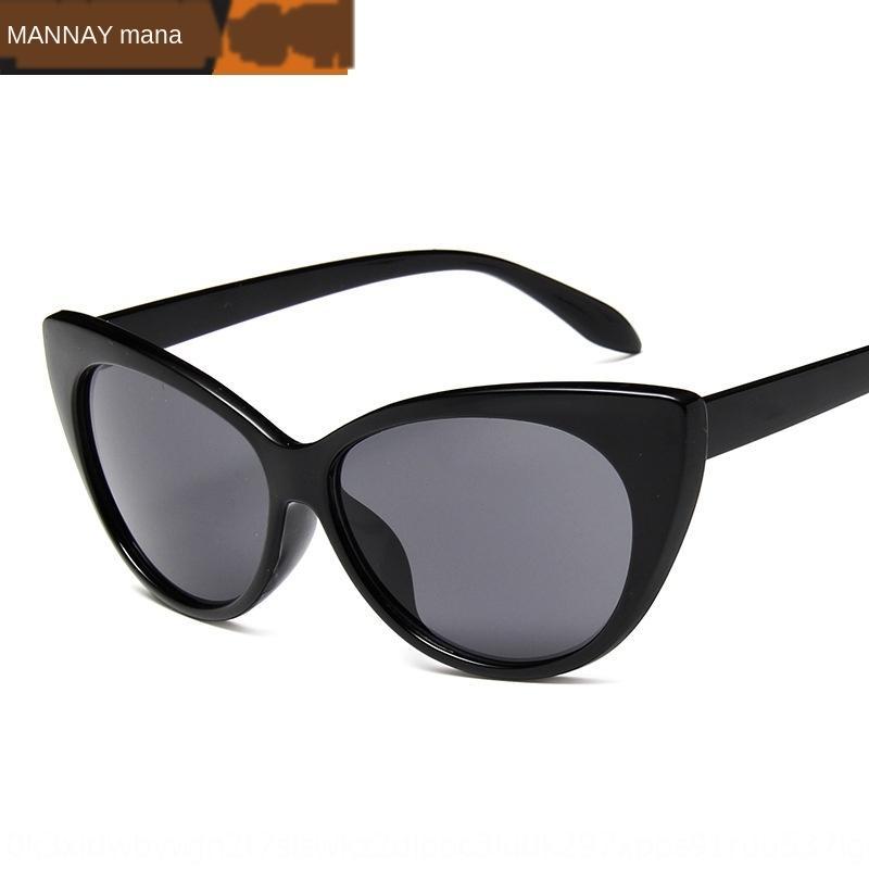 clássico do sol olho Sun sol sunglassestrendy celebridade Moda de gato óculos de sol rua passarela Internet tiro all-jogo óculos 8781 hLyA0