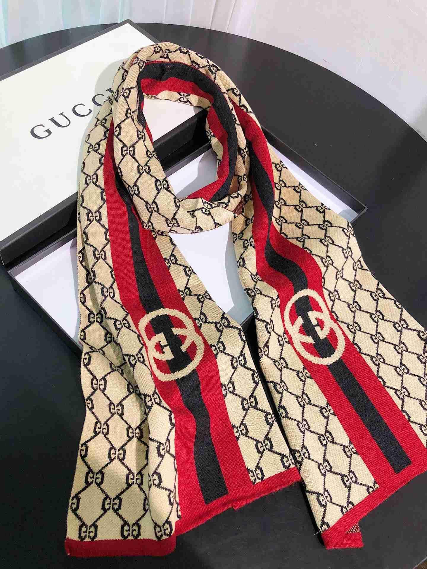 All'ingrosso-lusso sciarpa uomini e le donne di lana sciarpa 180X30CM echarpe cachecol lettera design in stile autunno e inverno sciarpa scialle