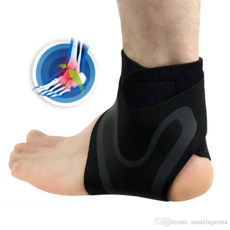 Accesorios deportivos equipamiento deportivo Soporte de tobillo Pie derecho izquierdo Protector de tobillo Elastic High Protect Safety Running Soporte de baloncesto Soporte
