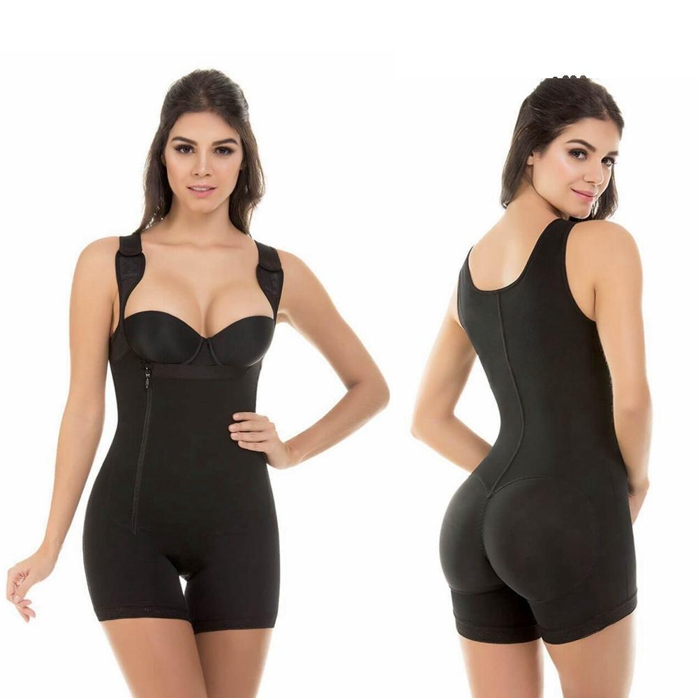Tummy contrôle Hip Lift amincissants Femmes Full Body Shaper Taille Entraîneur Underbust Pantalon Minceur Sous-vêtements sexy Corset correctrice
