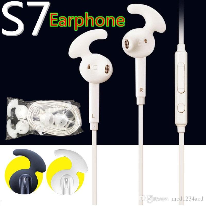 3,5 mm Intra-auriculaire casque avec micro volume écouteurs contrôle pour Samsung Galaxy s6 s7 s7 bord pour iPhone casque Retail Box