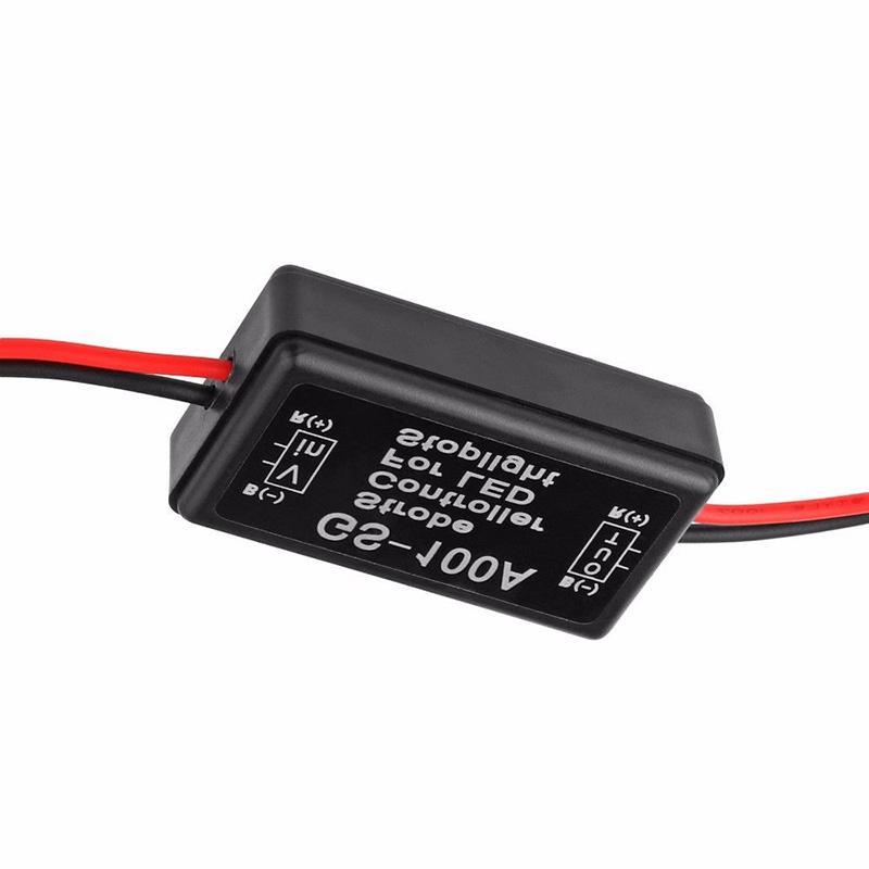 2 шт/комплект автомобиля строба вспышки контроллер мигалкой модуль светодиодный стоп-сигнал хвост стоп-сигналы VS998