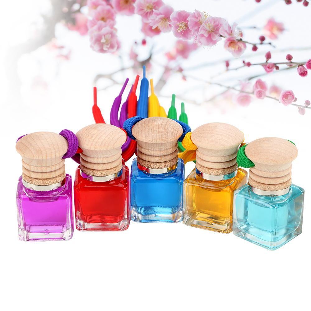 10ml Car Air Freshener Interior Accessories Pendant Scent Diffuser Car Decorations Hanging Bottle Automobiles Perfume Ornament