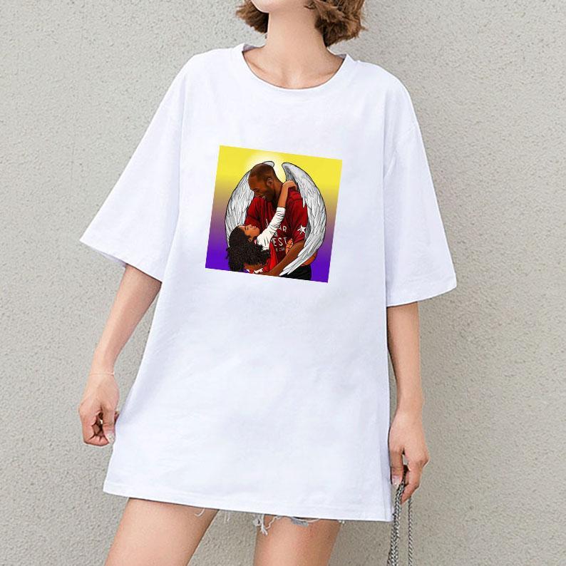 Womens T-shirt Designer ragazze di marca delle parti superiori delle donne camice di colore solido di 2020 estate di esplosione casuale Stampa magliette souvenir magliette vendita calda