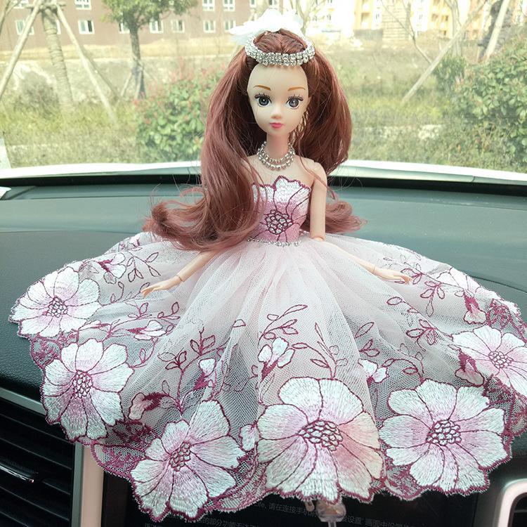 Vehículo Una muñeca Vestido de novia Una muñeca Artículos de muebles para exhibir en lugar de usar Juguetes de regalo