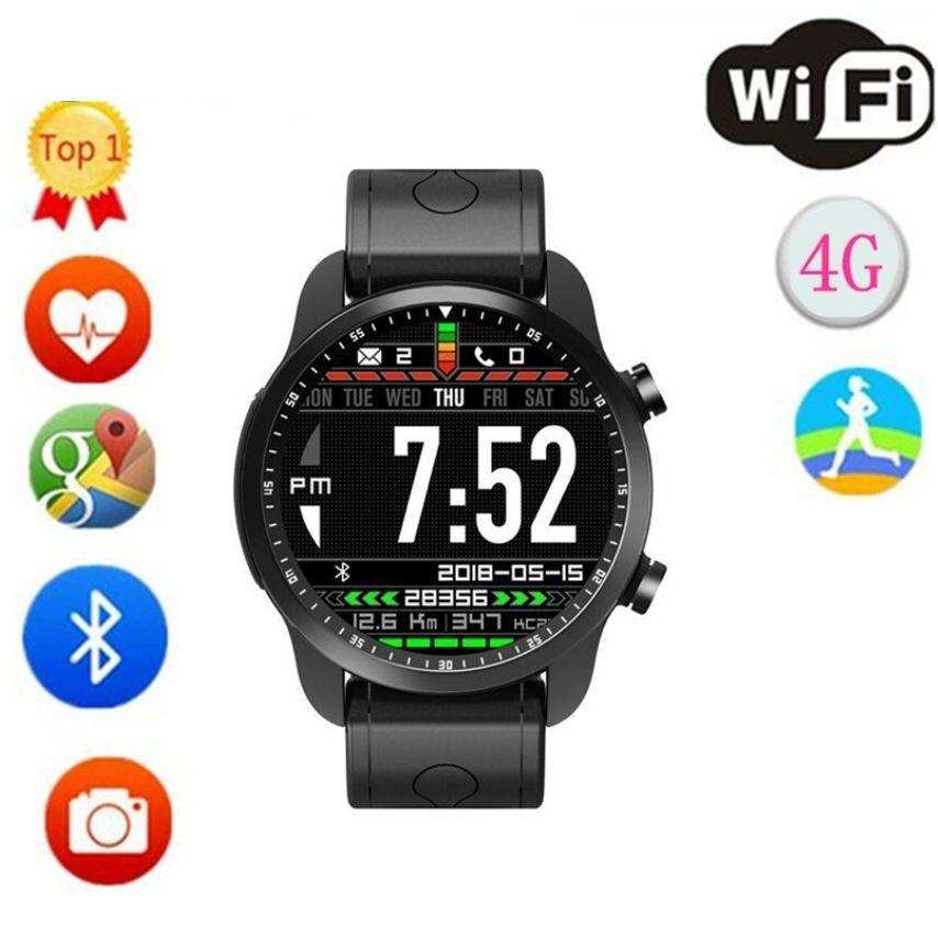 per samsung gear s4 Smart Watch KC03 Schermo da 1.3 pollici Android 6.0 2.0mp fotocamera MTK6737 4g GPS WIFI Bluetooth Smartwatch