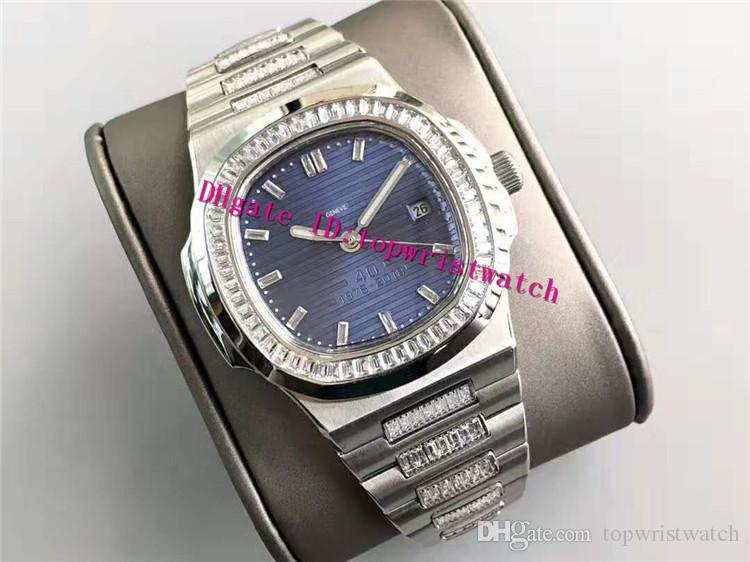 Hot 324Sc Watch Steel Swiss Sport Watch Automático Diamante 5711 Mecánico 28800 Sapphire VPH Nautilus Nautilus Wristwatch Impermeable LGQMJ