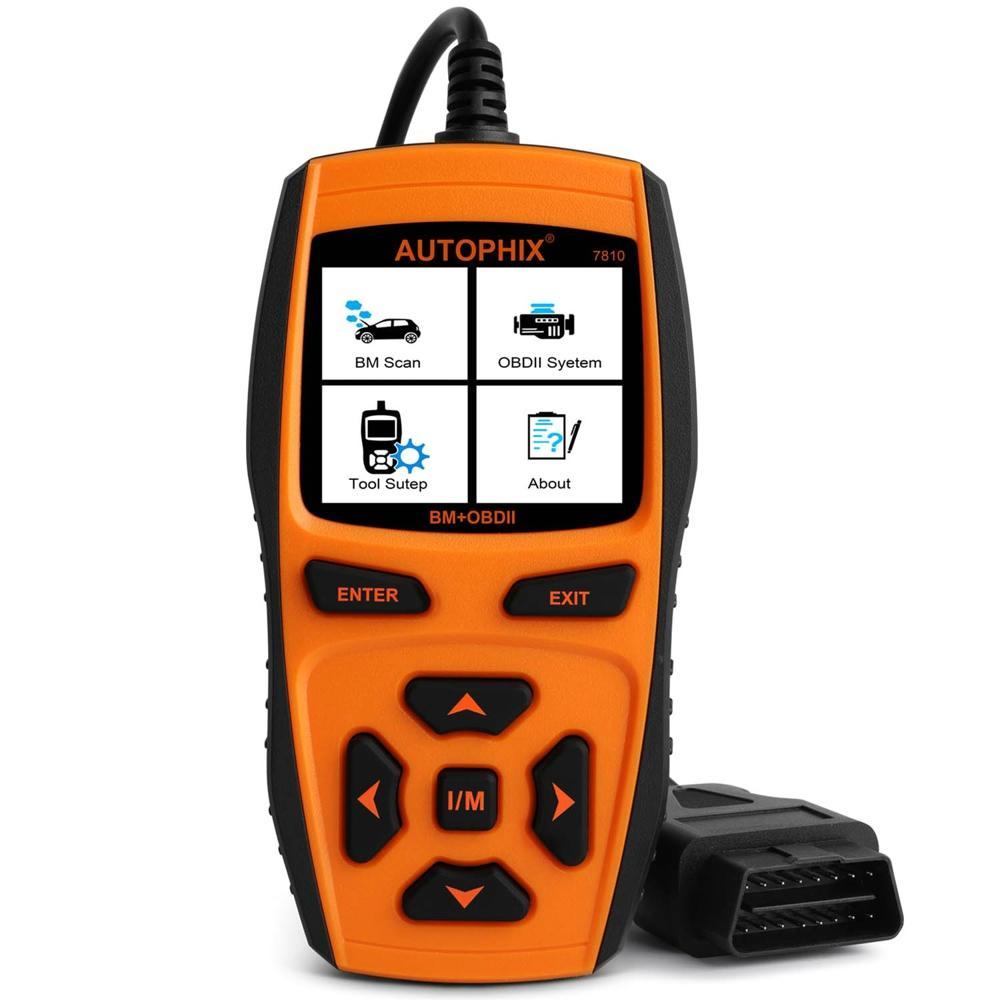 Autophix 7810 Coche OBD2 para E39 Scanner Herramienta de diagnóstico automotriz OBD 2 Lector de código de falla del motor + ABS SRS EPB Restablecimiento de aceite del airbag