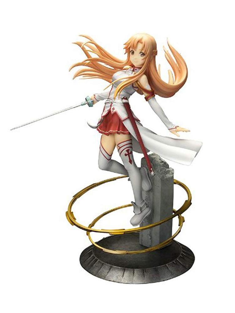 New Japanese Anime Art Online Asuna PVC Action Figure Toy 22cm Anime 1/8 Scale Figure Anime Figure Model Toys