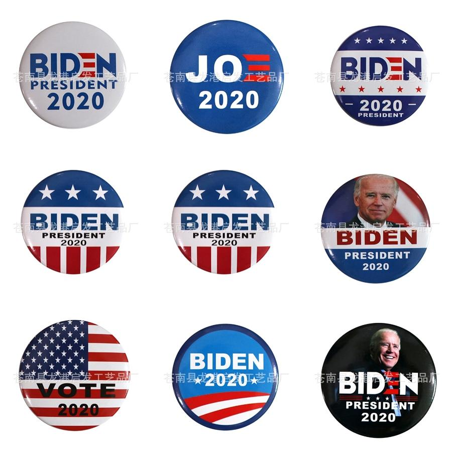 Crown Wing Biden Badge Patches For Clothing Iron Sequined Diy Patch Applique Iron On Patches Sewing Accessories Biden Badges On Clothes B #84