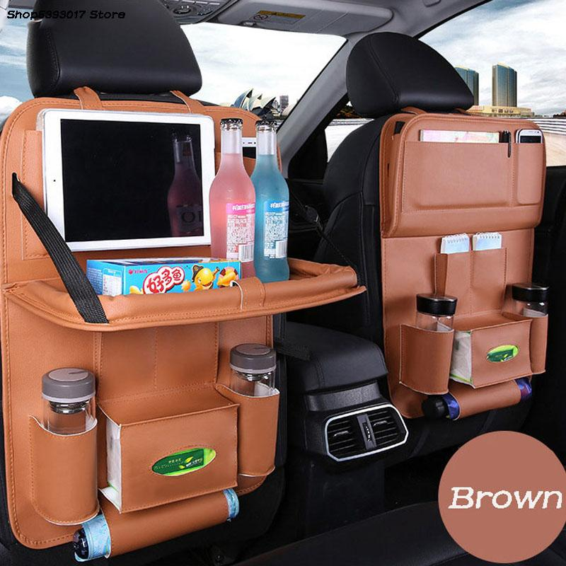 Автомобиль Multi-карманный Pad Кубок хранения держатель складная сумка Автокресло назад Подвесной органайзер сумка для Kia Sportage QL 2016 2017 2018